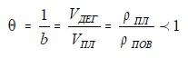 Формула пересчетного коэффициента
