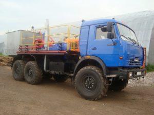 ЦА 320 на базе КаМАЗ повсеместно используемый для глушения скважин.
